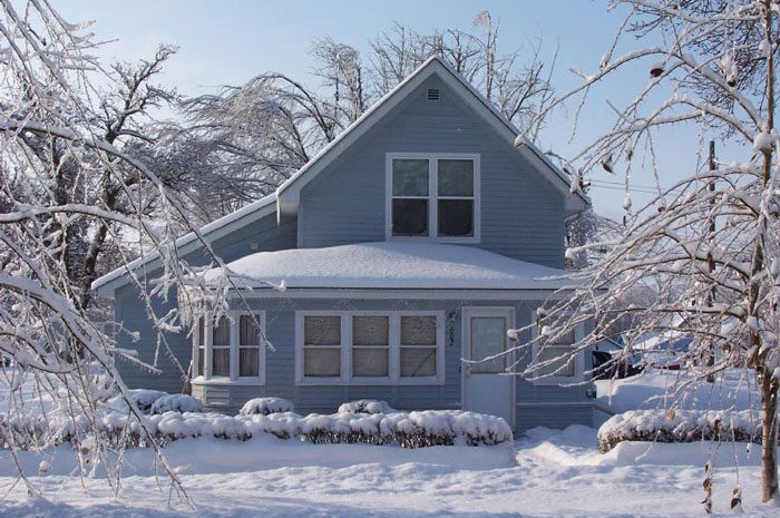 A checklist for winterizing and weatherproofing your home green apple mecha - Temperature maison hiver ...