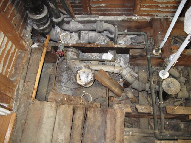 Old Plumbing Usually Means Problems