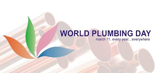Yesterday Was World Plumbing Day