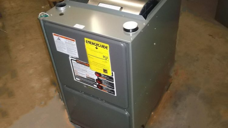 Most furnaces are kept in the basement, where we also love to store extra belongings. It's really important to keep a three to five foot area around your furnace completely clear of stored items.
